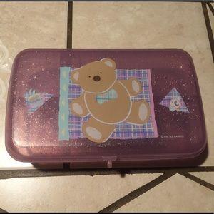 Sanrio Just For Fun Bear Pencil Box